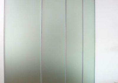 Glass Sliding